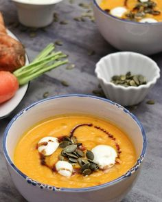 Vegan Soups, Canapes, Pumpkin Recipes, Cooking Time, Healthy Eating, Yummy Food, Healthy Recipes, Vegetables, Ethnic Recipes