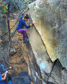 """""""Sweet new tights and a little rock clambering @thenorthface #MountainAthletics  Pickie pic @faithwinter"""""""