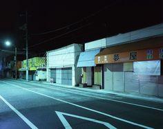 Greg Girard - Street near Iwakuni Marine Corps Air Station, Japan. 2009