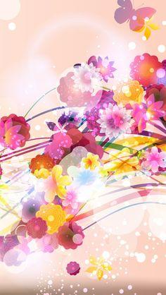 Pink Wallpaper, Iphone Wallpaper, Leaves Wallpaper, Lovely Eyes, Pretty Wallpapers, Flowers Nature, Good Music, Princess Peach, Pikachu
