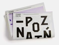 #news  Poets in Poznan, newspaper designed by Yo Studio (2013) – vía…