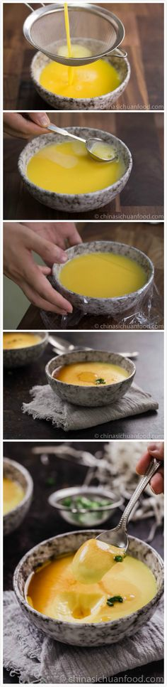 perfect savory steamed egg
