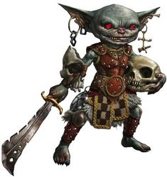 Dungeons & Dragons: Hobgoblins, Goblins & Bugbears (inspirational) - Imgur