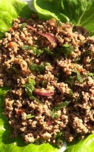 Paleo Comfort Foods Thai Larb (My favorite Asian dish... ever)