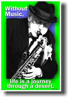 Without Music Life is a Journey Through a Desert - Pat Conroy