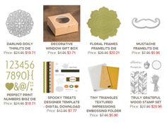Stampin' Up! Weekly Deals October 14 Through October 20, 2014 : KreatesKards