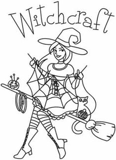 ideas for embroidery patterns halloween transfer paper Paper Embroidery, Embroidery Transfers, Hand Embroidery Patterns, Vintage Embroidery, Cross Stitch Embroidery, Machine Embroidery, Embroidery Tattoo, Embroidery Thread, Coloring Books