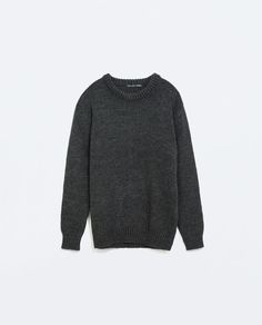 ZARA - SALE - THICK PLAIN SWEATER