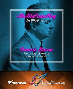 #UnDíaComoHoy 28 de octubre pero de 1909 nace Francis Bacon, pintor expresionista británico-irlandés.