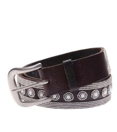 Silver Lamu Belt - Silver $ 92