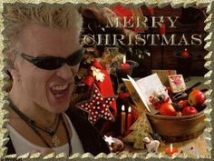 Billy Idol - White Christmas (Official Video)   Christmas Decor ...
