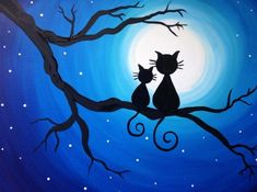 Life Right Meow 2 at Wild Wing - Paint Nite Events