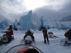 Snowmobiling in Anchorage Alaska