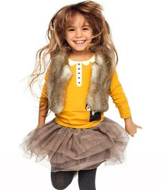 Minus the fur vest. Otherwise cute!