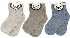 LITTONE Baby Kids Cotton Cute Animal Details Socks 3-Pack (2 size,for 1-3Y and 3-5Y) Cotton Socks, Baby Kids, Cute Animals, Detail, Fashion, Pretty Animals, Moda, Fashion Styles, Cutest Animals