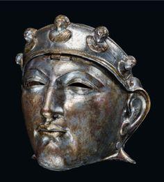 The Nijmegen helmet. Roman cavalry helmet 1st - 3rd century A.D.