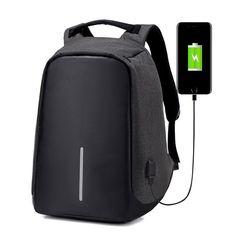 Get Best Price Anti Theft Backpack Women Laptop USB charging Men 15 Inch Notebook Backpacks Fashion Male Mochila Escolar Feminina Travel Bags Bags Travel, Travel Backpack, Black Backpack, Backpack Bags, Fashion Backpack, Backpack Camping, Backpack Outfit, Travel Ideas, Waterproof Laptop Backpack