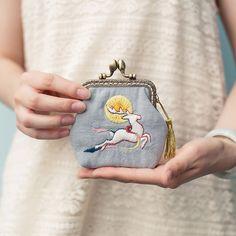 王的手创 手工刺绣口金包不织布diy材料包布艺孕妇零钱包初学礼物-淘宝网