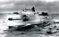 German WWII E-boat.