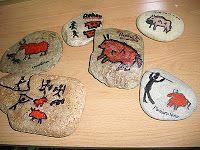 El 3º ciclo de Primaria esta trabajando el tema de la Prehistoria  en Plástica. Comenzamos el trimestre haciendo pisapapeles con piedras en ...