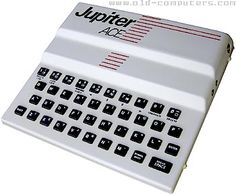 The Jupiter ACE looks very similar to the Sinclair ZX 81. Actually, the designers of this computer, Richard Altwasser and Steven Vickers, played a major role in creating the Sinclair Spectrum.