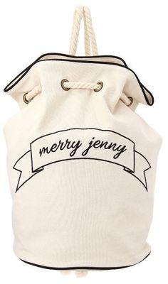 merry jenny ロゴキャンバスリュック / Backpack on ShopStyle