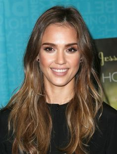 undone texture - slightly straight, slightly wavy for that effortless look