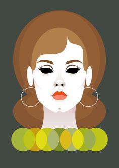 Stanley Chow Illustration of Adele Adele, Arte Pop, Pop Art, Caricatures, Stanley Chow, Banners, Vector Portrait, Art Design, Graphic Design