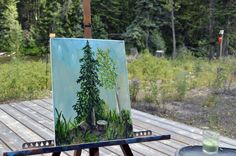 End of Summer Plein Air - Artfully Creative Life
