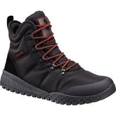 Columbia Men's Fairbanks Omni-Heat 200g Waterproof Winter Boots, Size: 10.0, Black
