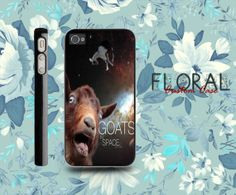 Goats In Space For iPhone 4/4S,iPhone 5,iPhone 5S,iPhone 5C,Samsung Galaxy S2/S3/S4,Galaxy S4 Mini