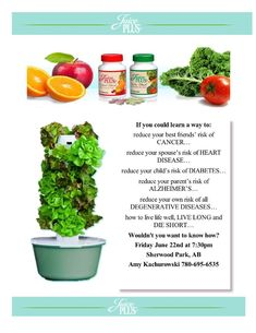 Juice Plus+ and tower garden Grow your Own And have unlimited veggies everyday!  Www.karenhudgins.towergarden.com