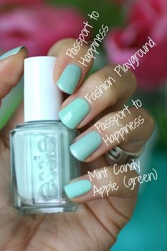 Essie Bridal 2016 Passport to Happiness ; 8/11/16