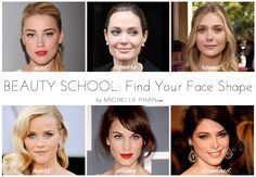finding your face shape #beautytips