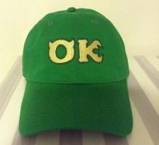 MONSTER UNIVERSITY OK HAT CAP DISNEY BASEBALL HAT