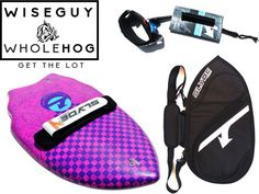 Wiseguy handboard for bodysurfing from slyde handplanes the whole hog version with board bag and leash $209