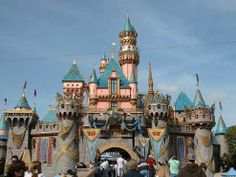 Disneyland!  Probably won't be at breathtaking as Cinerella's Castle, but while on LA...