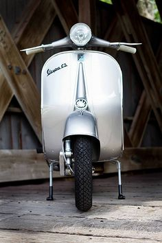 Samantha and 1959 Vespa GS150 #9 Photoshoot by: Creative … | Flickr