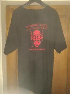 Black Gothic Short Sleeved T shirt Top Nightbreed Radio Gothic, Best Deals, Mens Tops, T Shirt, Stuff To Buy, Shopping, Black, Women, Fashion