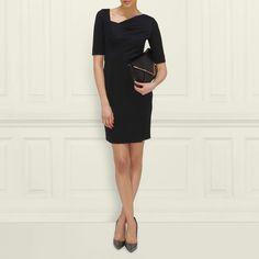 Catrina Asymmetrical Neckline Dress