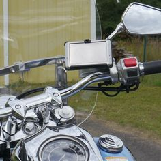 eCaddy® Diamond Garmin Nuvi GPS Motorcycle Mount for Mirror Stem (chrome) The most versatile way to mount Garmin Nuvi GPS on a motorcycle!The cornerstone of the