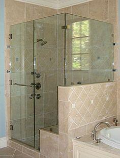 half glass shower doors bing images