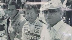 Carl Haas, Mario Andretti,  Paul Newman at Road America