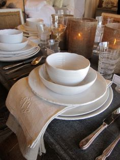 Vintage Living I think I would love to do a soup for my wedding or a couple to choose from :)