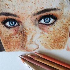 Imagem de drawing, art, and eyes