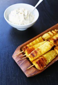 Honningglasert, grillet ananas med en herlig mascarponekrem! | SPOON