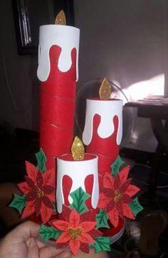 Pin De Andrea Queliz Feliz En Navidad Victoriana Pinterest - Velas-de-navidad