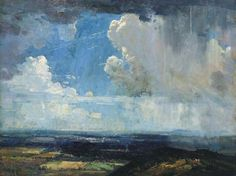 The Cloud, 1936 Arthur Ernest Streeton (1867-1943) Australia