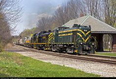 RailPictures.Net Photo: D-L 1554 Delaware Lackawanna Alco RS-3 at Moscow, Pennsylvania by Brian D Plant