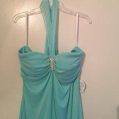 Selling this Plus size Formal/Prom dress in my Poshmark closet! My username is: annacscott1. #shopmycloset #poshmark #fashion #shopping #style #forsale #Deb #Dresses